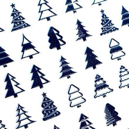 Купить AnnaTkacheva, 3Dслайдер№80, черный «Зима. Новый год », Anna Tkacheva