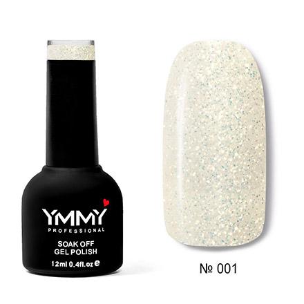 Купить YMMY Professional, Гель-лак «Оникс» №001, Бежевый