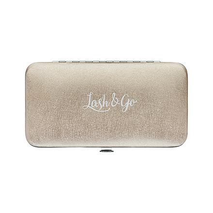 Купить Lash&Go, Магнитный пенал для пинцетов, жемчужный беж