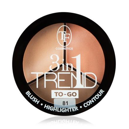 Купить TF, Палетка для контуринга лица Trend To-Go, тон 81