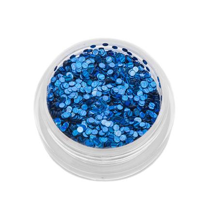 Купить TNL, Пайетки для ногтей «Кошачий глаз» - синие №1, TNL Professional