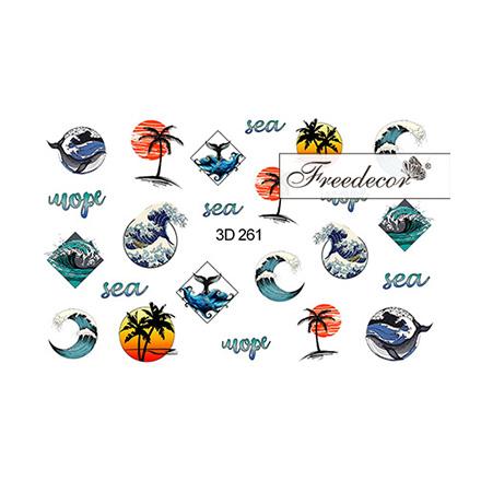 Купить Freedecor, 3D-слайдер №261