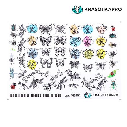 Купить KrasotkaPro, 3D-слайдер Crystal №165954 «Насекомые. Стрекозы»