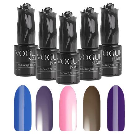 Vogue Nails, Набор гель-лаков «Скрытые чувства»