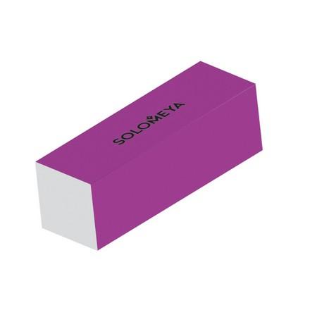 Solomeya, Блок-шлифовщик для ногтей, фиолетовый, 120