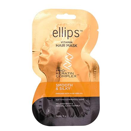 Купить Ellips, Маска для волос Smooth&Silky, 18 г