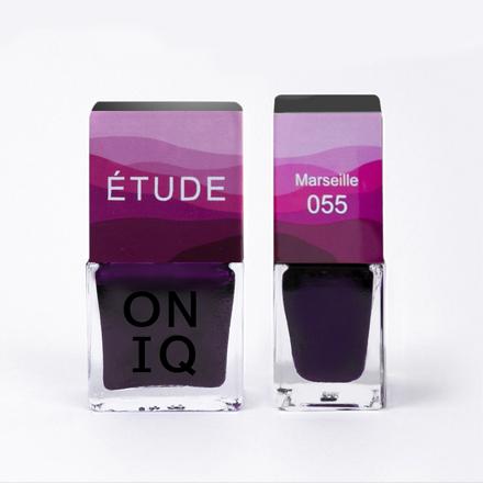 Купить ONIQ, Лак для ногтей Tryptich Etude №55, Marseille, Розовый