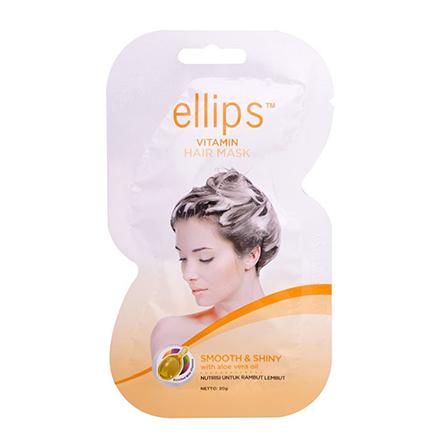 Купить Ellips, Маска для волос Smooth&Shiny, 20 г