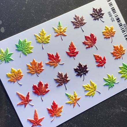 Купить AnnaTkacheva, 3D-слайдер№689 «Осень. Листья», Anna Tkacheva