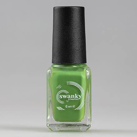 Купить Swanky Stamping, Лак для стемпинга №S48, Classic Green, Зеленый