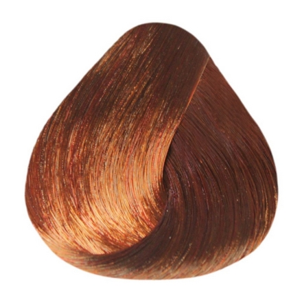 Estel, Краска-уход 6/44 De Luxe, темно-русый медный интенсивный, 60 мл estel стойкая крем краска для волос de luxe 6 4 темно русый медный 60 мл