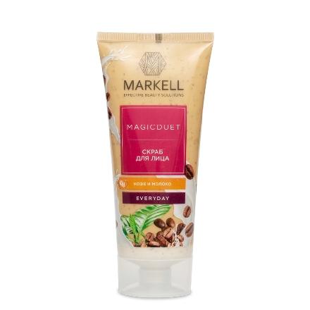 Купить Markell, Скраб для лица Magic Duet «Кофе и молоко», 100 мл