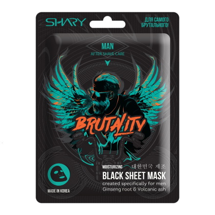 Shary, Увлажняющая маска для мужчин, 25 г