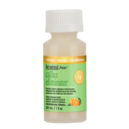 Be Natural, Callus Eliminator с ароматом апельсина, 29 мл be natural средство с запахом апельсина для удаления натоптышей callus eliminator orange 540 г