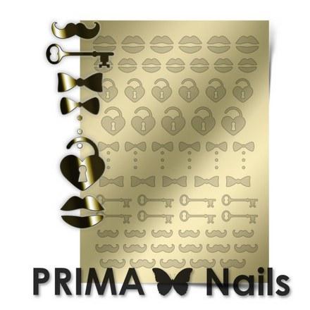 Prima Nails, Металлизированные наклейки FSH-04, золото