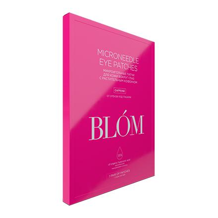 Купить BLOM, Патчи для глаз Caffeine, 1 пара, BLÓM