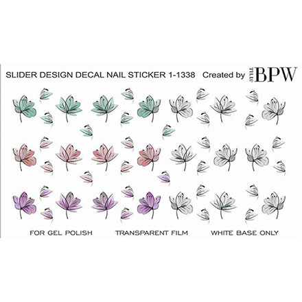 BPW.Style, Слайдер-диайзн «Цветы» №1-1338