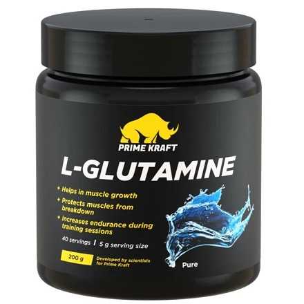 Prime Kraft, L-Glutamine, с нейтральным вкусом, 200 г