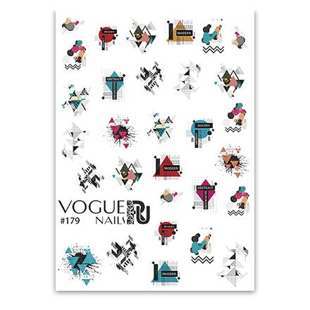 Купить Vogue Nails, Слайдер-дизайн №179