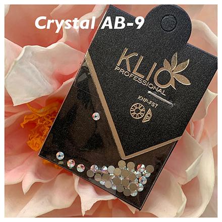 Купить Klio Professional, Стразы Crystal AB, 2, 5 мм