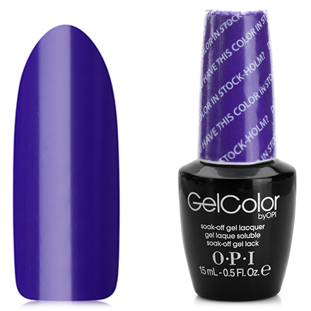 Гель-лак OPI GelColor, цвет Do You Have This Color In Stock-holm? N47
