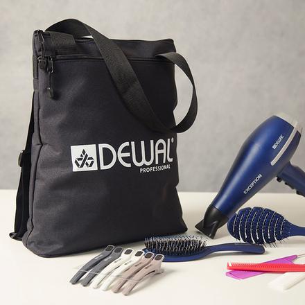 Купить Dewal, Сумка для парикмахерских инструментов, черная, 40х36х10 см