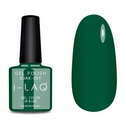 Купить I-LAQ, Гель-лак №148, Зеленый