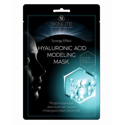 Skinlite, Маска альгинатная «Гиалуроновая кислота», 50 г skinlite маска увлажняющая огурец 7 г
