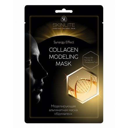 Skinlite, Маска альгинатная «Коллаген», 50 гМаски<br>Моделирующая маска с увлажняющим и лифтинг-эффектом. Маска специально разработана для ухода за увядающей кожей с явными признаками старения.<br>