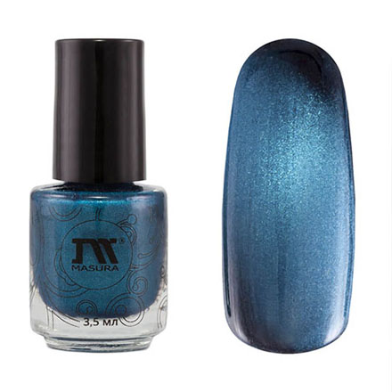 Купить Masura, Лак для ногтей №904-171M, Горный азурит, 3, 5 мл, Синий
