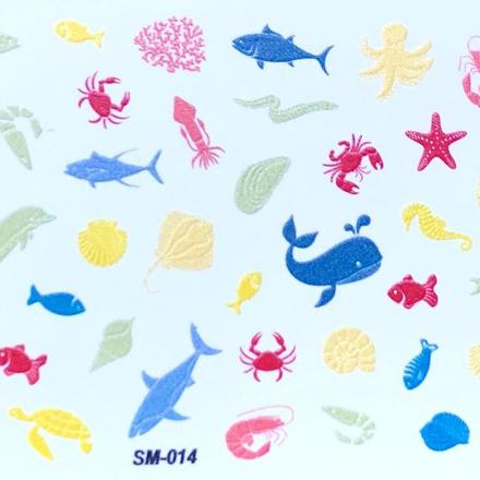 Anna Tkacheva, Cлайдер SM №14 «Море. Животные» фото