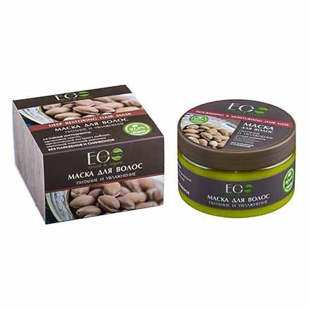 Купить EcoLab, Маска для волос «Питание и увлажнение», 250 мл