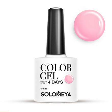 Купить Solomeya, Гель-лак №15, Raspberry, Розовый