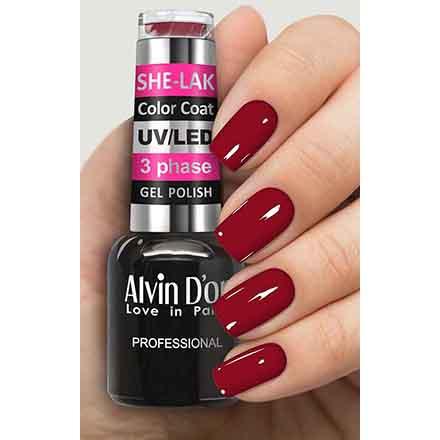 Купить Alvin D'or, Гель-лак №3552, Красный