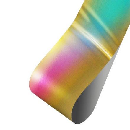 Patrisa nail, Фольга для дизайна (голография золотая), 60 см