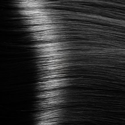 Kapous, Крем-краска для волос Studio Professional 1.0, черный, 100 мл