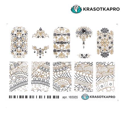 Купить KrasotkaPro, 3D-слайдер Crystal Gold №165935 «Кружево»