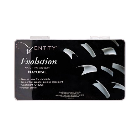 Entity Assorted Natural Tips (200 шт.)