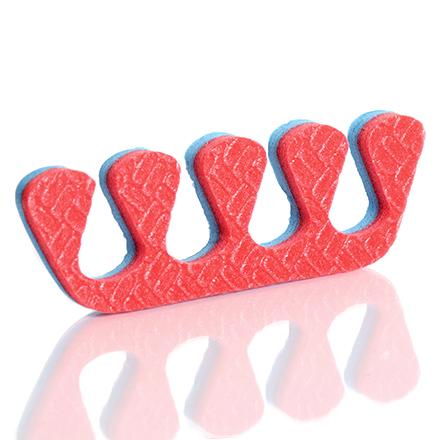KrasotkaPro, Разделители для пальцев цветные, 8 мм, 20 пар