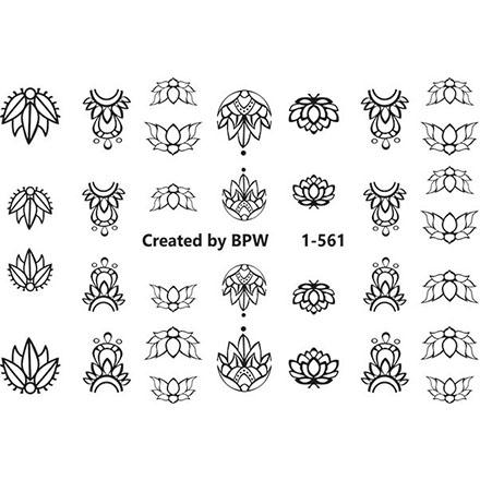 Купить BPW.Style, Слайдер-дизайн Sweetbloom №1-561