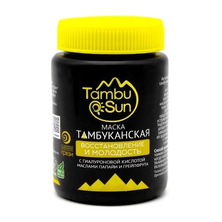 Купить TambuSun, Маска для лица «Молодость и восстановление», 100 мл