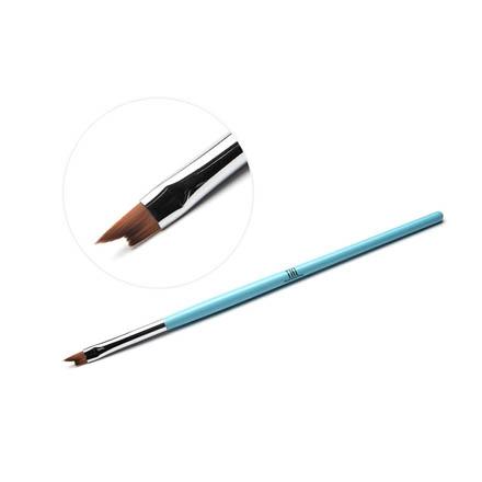 TNL, Кисть для дизайна фигурная «Лесенка», голубая