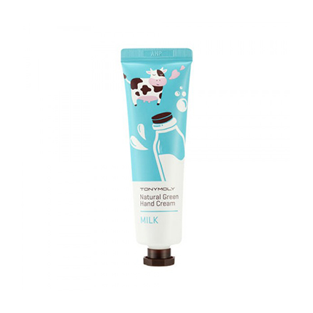 Tony Moly, Крем для рук Natural Green Hand Cream, Milk