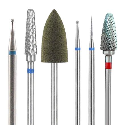 Planet Nails, Набор фрез для педикюра planet nails набор подставок для типс кристалл