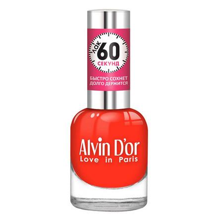Купить Alvin D'or, Лак «60 секунд» №22, Коралловый