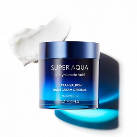 Missha, Крем-бальзам Super Aqua Ultra Hyalron Original, 70 мл chi luxury black seed oil curl defining cream gel