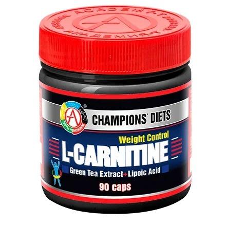 Академия-Т, Жиросжигатель L-Carnitine Weight Control, 90 капсул академия т аминокислотный комплекс tetramin 200 капсул