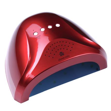 Купить Planet Nails, Лампа UV/LED Sunlight, 24W/48W, красная