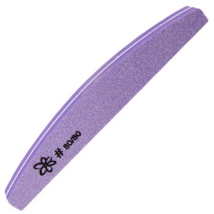 IRISK, Шлифовка 2-стороняя, лодка, 80/80Пилки для искусственных ногтей<br>Пилка для шлифовки искусственных ногтей.<br>