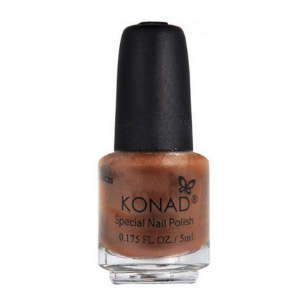 Konad, лак для стемпинга, цвет S60 Brown 5 ml (коричневый) (УЦЕНКА)